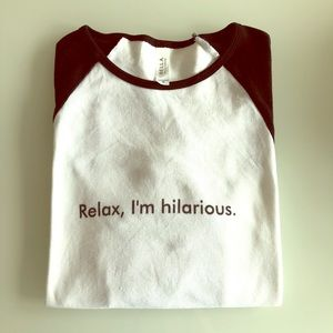Hilarious BELLA CANVAS T-shirt - Custom made